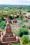 Paisaje de Bagan Fotos de archivo libres de regalías