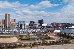 Paisaje de Baltimore Imágenes de archivo libres de regalías
