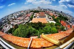 Paisaje de Bangkok Imagenes de archivo