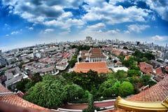Paisaje de Bangkok Foto de archivo