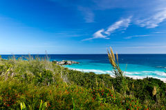 Paisaje de Bermudas Fotos de archivo libres de regalías
