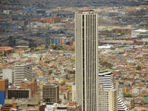 Paisaje de Bogotá, Colombia. Fotos de archivo