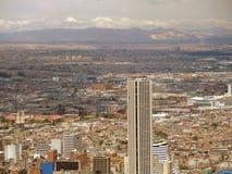 Paisaje de Bogotá, Colombia. Foto de archivo