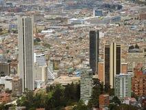 Paisaje de Bogotá, Colombia. Imagen de archivo libre de regalías