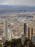Paisaje de Bogotá, Colombia. Imagenes de archivo