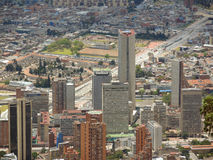 Paisaje de Bogotá, Colombia. Fotos de archivo libres de regalías
