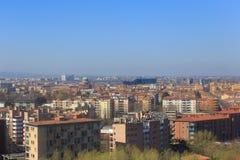 Paisaje de Bolonia, Italia Fotos de archivo