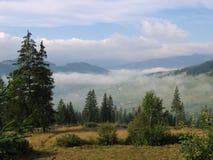 Paisaje de Bucovina Fotos de archivo libres de regalías