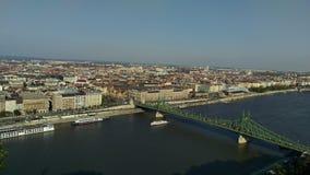 Paisaje de Budapest Fotos de archivo