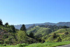 Paisaje de California Imagen de archivo