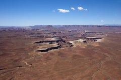 Paisaje de Canyonlands Fotos de archivo libres de regalías
