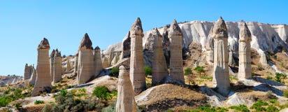 Paisaje de Cappadocia Imágenes de archivo libres de regalías