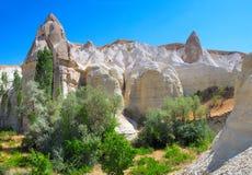 Paisaje de Cappadocia Fotografía de archivo libre de regalías