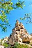 Paisaje de Cappadocia en Turquía foto de archivo