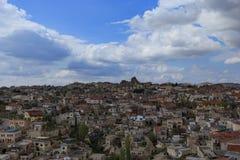 Paisaje de Cappadocia l imagen de archivo