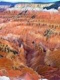 Paisaje de Cedar Breaks National Monument Imagen de archivo libre de regalías