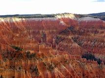 Paisaje de Cedar Breaks National Monument Foto de archivo libre de regalías