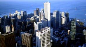 Paisaje de Chicago Imagen de archivo libre de regalías
