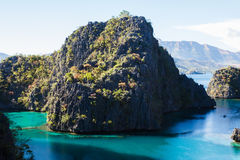 Paisaje de Coron, isla de Busuanga, provincia de Palawan, Filipinas Imagenes de archivo