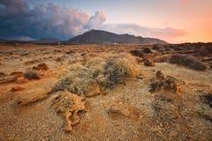 Paisaje de Creta del sudeste, Grecia Imágenes de archivo libres de regalías