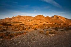 Paisaje de Creta del sudeste, Grecia. Fotos de archivo