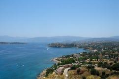 Paisaje de Crete imagenes de archivo