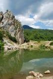 Paisaje de Crimea Foto de archivo