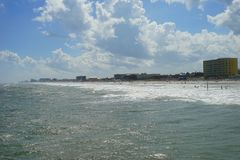 Paisaje de Daytona Beach Foto de archivo libre de regalías