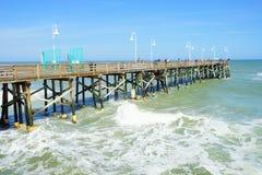 Paisaje de Daytona Beach Imagen de archivo libre de regalías
