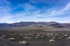 Paisaje de Death Valley Fotos de archivo libres de regalías