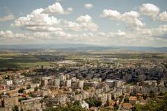 Paisaje de Deva-Hunedoara Foto de archivo libre de regalías