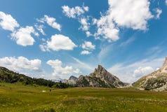 Paisaje de Dolomiti fotos de archivo libres de regalías
