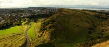 Paisaje de Edimburgo Imagenes de archivo