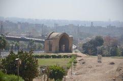 Paisaje de El Cairo de la ciudadela Imágenes de archivo libres de regalías