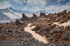 Paisaje de Elbrus Fotos de archivo