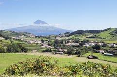 Paisaje de Faial, Azores Imagenes de archivo