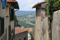 Paisaje de Florencia, Italia Imagen de archivo libre de regalías