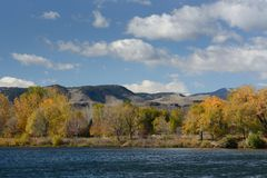 Paisaje de Front Range Colorado Imagen de archivo