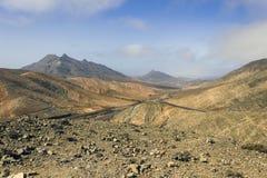 Paisaje de Fuerteventura Fotografía de archivo