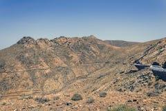 Paisaje de Fuerteventura Imagen de archivo