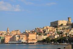 Paisaje de Gaeta (Italia) Imagenes de archivo