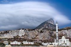Paisaje de Gibraltar Foto de archivo libre de regalías