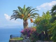 Paisaje de Gioiosa Marea en Sicilia Fotografía de archivo