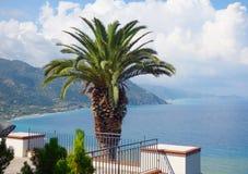 Paisaje de Gioiosa Marea en Sicilia Imagenes de archivo