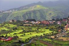 Paisaje de Gran Canaria Fotografía de archivo