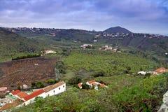 Paisaje de Gran Canaria Imagen de archivo libre de regalías