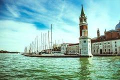 Paisaje de Grand Canal, Venecia fotos de archivo libres de regalías