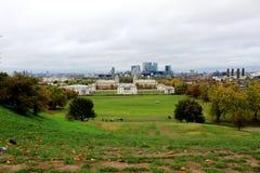 Paisaje de Greenwich Imagenes de archivo