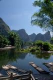 Paisaje de Guilin foto de archivo libre de regalías