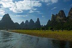 Paisaje de Guilin fotos de archivo